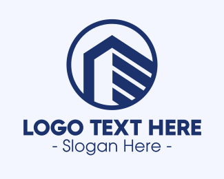 Office Space - Real Estate Property Building logo design