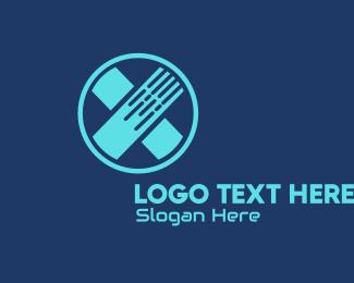 Finance - Blue Cross Bandage logo design