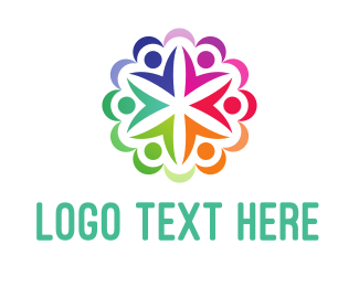 Crowdfund - Circle People logo design
