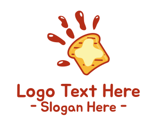 Toasted - Sandwich Hand logo design