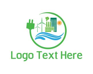 Eco Energy - Eco Energy logo design