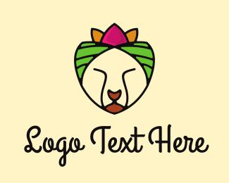 Tropical - Tropical Cat logo design