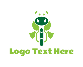 Biker - Hippo Biker logo design