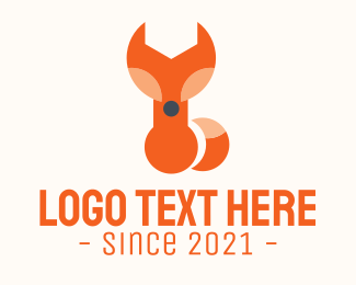 Repair Tool - Fox Wrench Tool logo design
