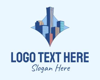 Beijing - Beijing Cityscape logo design