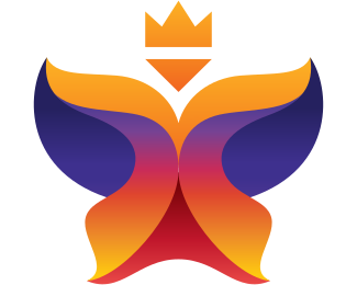 Wardrobe - Abstract Royal Queen logo design