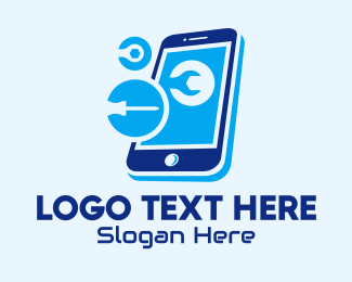 Repair - Smartphone Repair Shop logo design