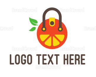 Bag - Fruit Bag logo design
