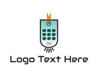Control - Bird Gadget logo design