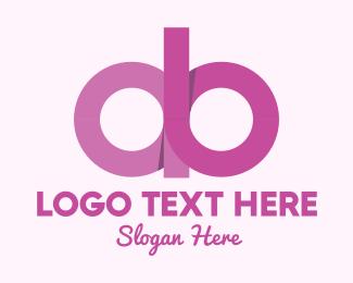Makeup Tutorial - Feminine A & B logo design