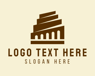 Construction - Classic Building Construction  logo design