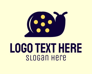 Film Director - Snail Film logo design