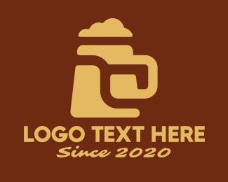 Tap - Beer Tap Mug logo design