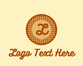 Diner - Waffle Diner Lettermark logo design