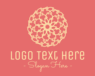 Therapy - Flower Ball logo design