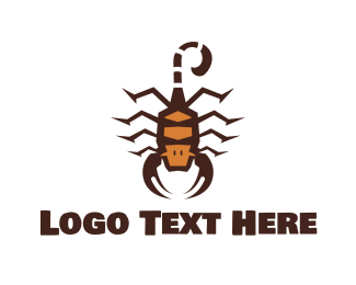 Stinger - Scorpion King logo design