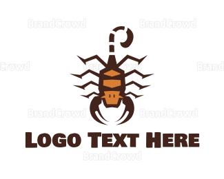 Predator - Scorpion King logo design