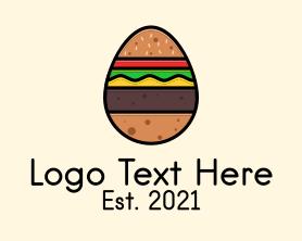 Burger - Burger Sandwich Egg logo design