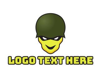 Esport - Esports Game Skull Soldier logo design