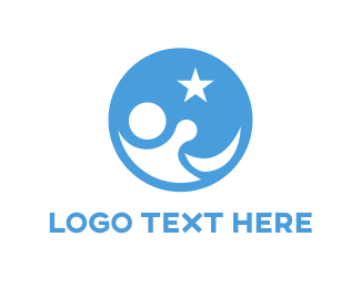 Wish - Goodnight Star logo design