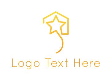 Script - Star House logo design