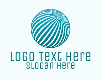 Commercial - Commercial Blue Globe logo design