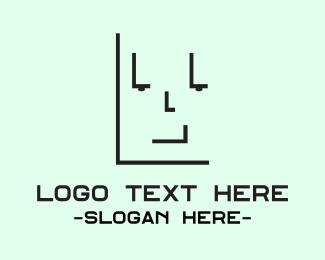 Man - Letter L Man logo design