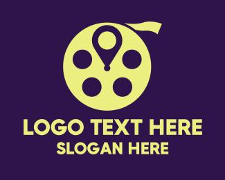 Documentary - Entertainment Cinema Location logo design