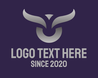 Metalwork - Silver Bull logo design