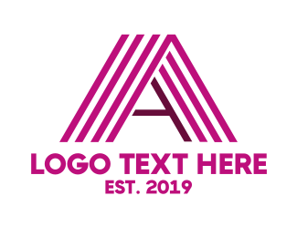 Stripe - Violet Stripe A logo design