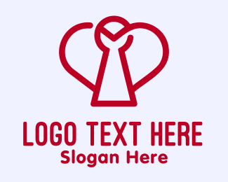 Safety - Heart Safety Dating App logo design