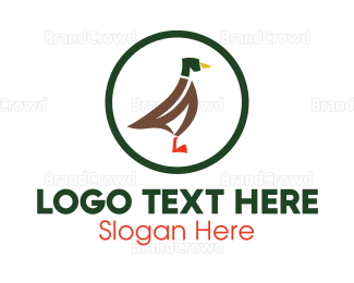 Farm - Duck Farming logo design