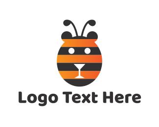 Bear - Bear Bee logo design