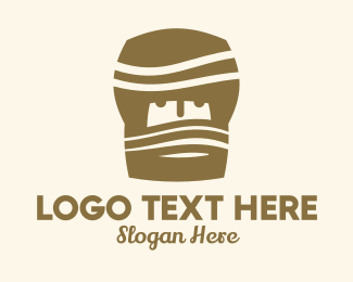 Turban - Desert Turban Man logo design