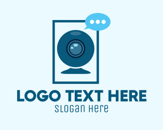 Video Camera - Video Camera Chatting  logo design
