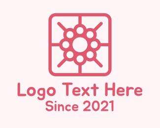 Mobile App - Flower Mobile App logo design