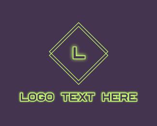 Cyber Cafe - Tech Futuristic Letter logo design