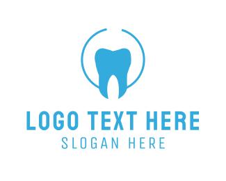 Tooth - Blue Tooth logo design