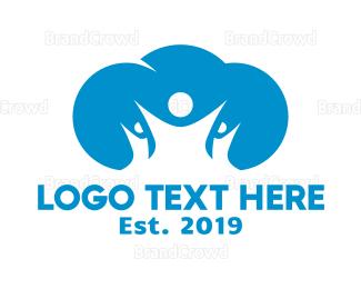 Social - Blue Cloud Group logo design