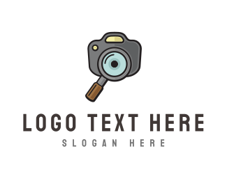 Photo Booth - Photo Search  logo design