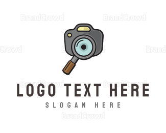 Zoom - Photo Search  logo design