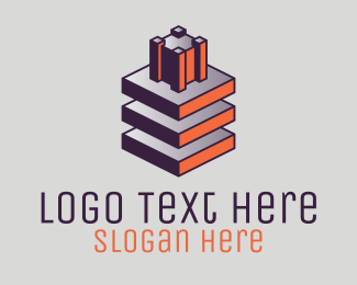 Contractor - Modern Building Contractor logo design