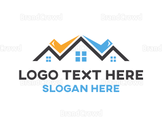 Broker - Check Town logo design
