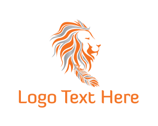 Chief - Tribal Lion logo design