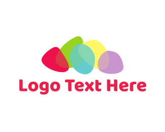 Amber - Colorful Stones logo design