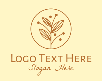 Ornamental - Elegant Ornamental Plant logo design