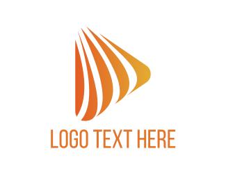 Stripe - Orange Stripes logo design