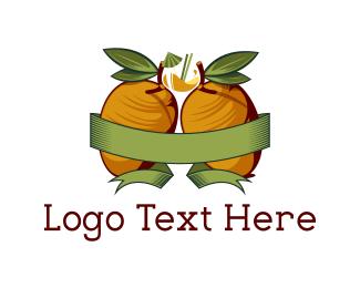 Mango - Yellow Mangoes logo design