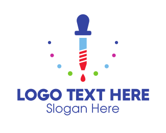 Nursery - Dropper Lab logo design