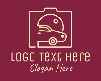 Photograph - Camera Car Lens logo design